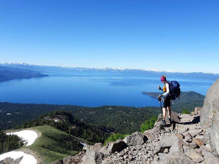 Hiking Tahoe Rim Trail