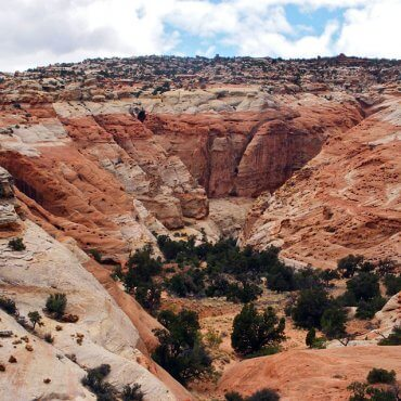 Frying Pan Trail. Capitol Reef National Park