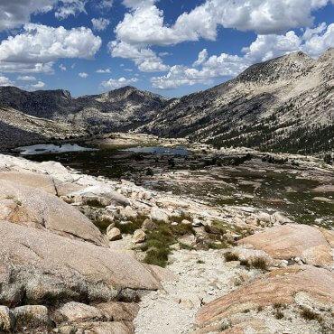 Burro Pass. Sierra Nevada.